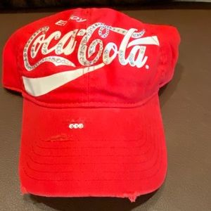 Red jeweled Coca-Cola Ball Cap